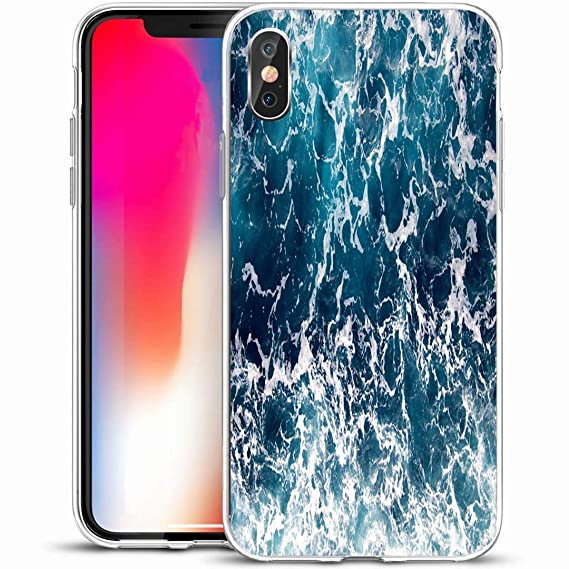 Amazon Com Ahawoso Custom Phone Case Cover For Iphone X Xs