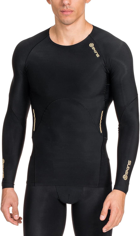 Image of Skins Men's A400 Compression Long Sleeve Top