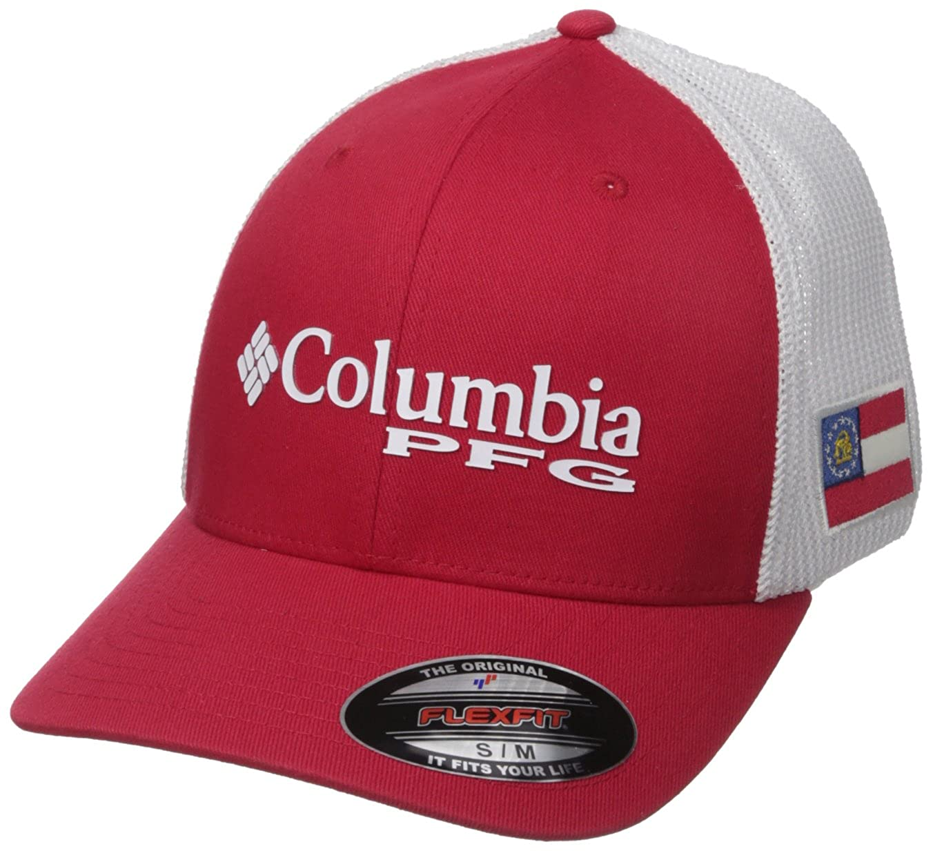 bdc509046d6258 Amazon.com   Columbia PFG Mesh Stateside Ball Cap   Clothing
