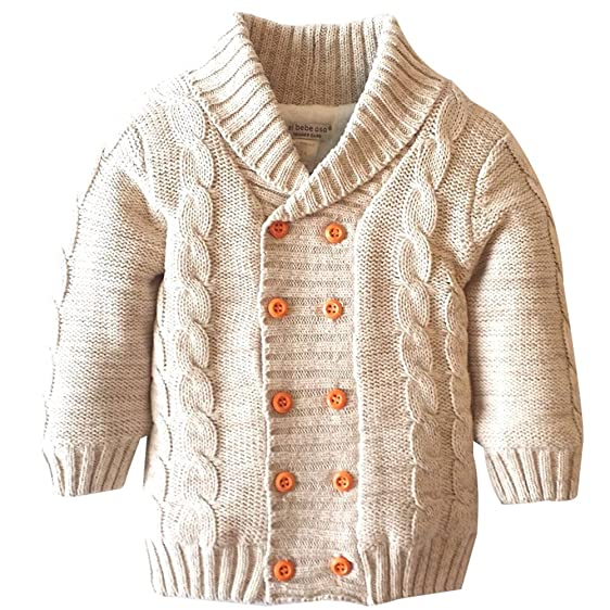 Amazon.com: Baby Toddler Boys Winter Jacket Coat Warm Sweaters ...
