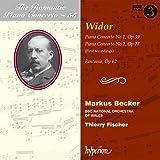 Widor:Piano Concertos Nos.1 and 2 (The Romantic Piano Concerto Volume 55 )(Hyperion: CDA67817)