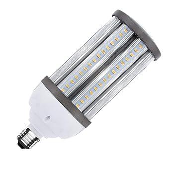 Lámpara LED Alumbrado Público Corn E27 40W Blanco Cálido 2800K-3200K efectoLED