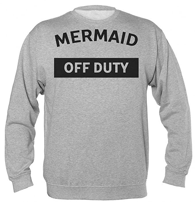 Mermaid Of Duty Simple Design Unisex Sudadera: Amazon.es: Ropa y accesorios