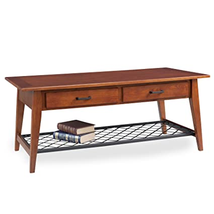 Leick Furniture Latisse Two Drawer Coffee Table