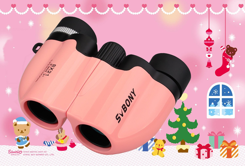 Svbony sv26 mini fernglas kinder 8x21 ultra kompakt klein binocular