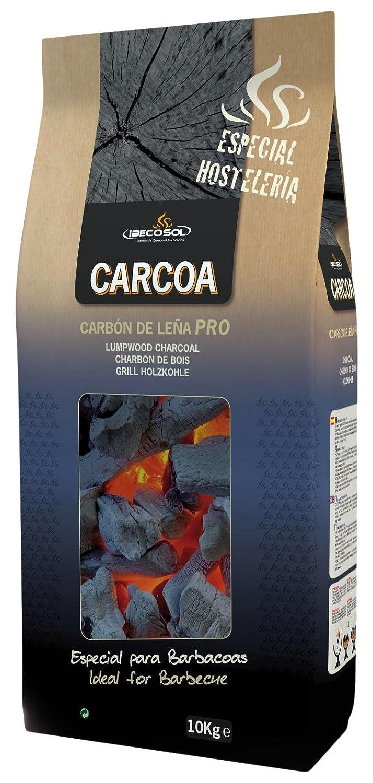 Carcoa 0129 Carbon Vegetal 10 KG, Negro, 70x32x16 cm