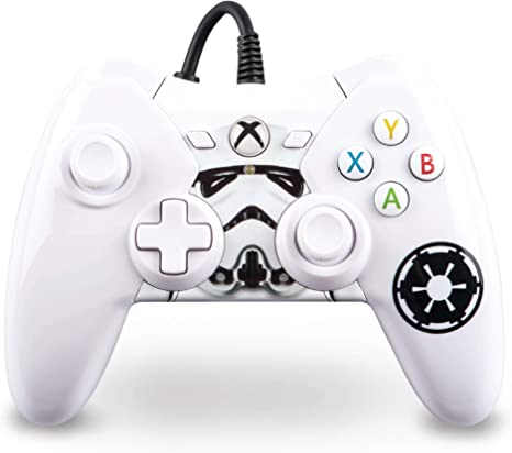 Power A Star Wars Wired Controller Stormtrooper Mando Consola (Compatible con: Microsoft Xbox One: Amazon.es: Informática