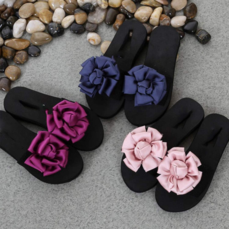 Resistant Women Slippers Platform Sandals Summer Women Shoes Flowers Woman Beach Flip Flops Summer Sandals Slip