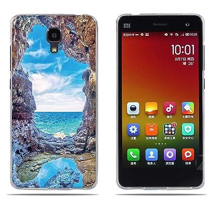 DIKAS Funda Xiaomi Mi 4, Carcasa Xiaomi M4, 3D Realzar, Gel ...