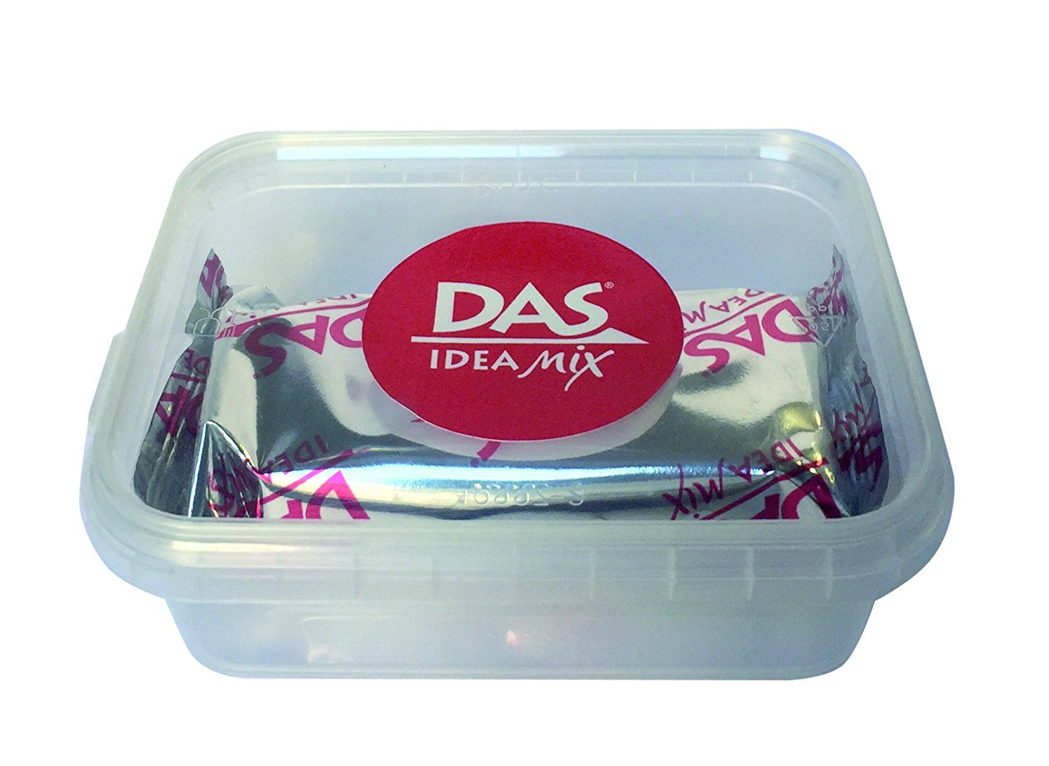 Das Idea Mix Air-drying Mineral-based Clay 100g Black by Das Colour (Image #1)