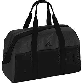 a21c29bf59777 adidas Damen Training Core M Sporttasche Black Carbon 23 x 50 x 32 ...