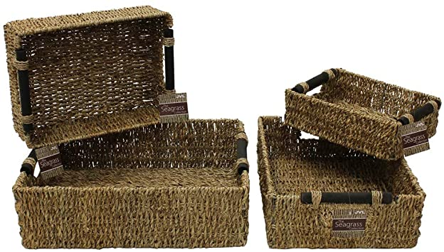 Natural Toy Storage Baskets