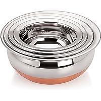 Tosaa Home Appliances Copper Handi 4-piece Set Cookware