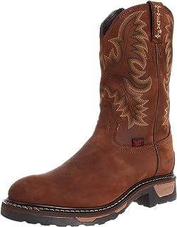 c307838f01d Amazon.com | Tony Lama Boots Men's Waterproof Steel Toe TW1009 Work ...