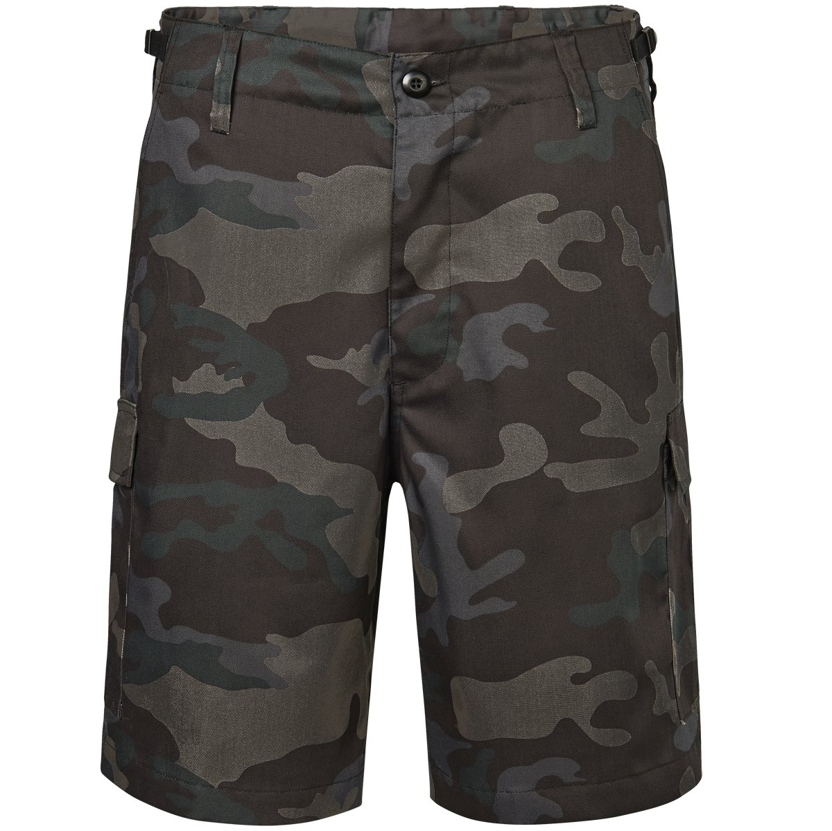 Brandit Men's US Ranger Shorts Dark Camo Size 7XL by Brandit (Image #1)
