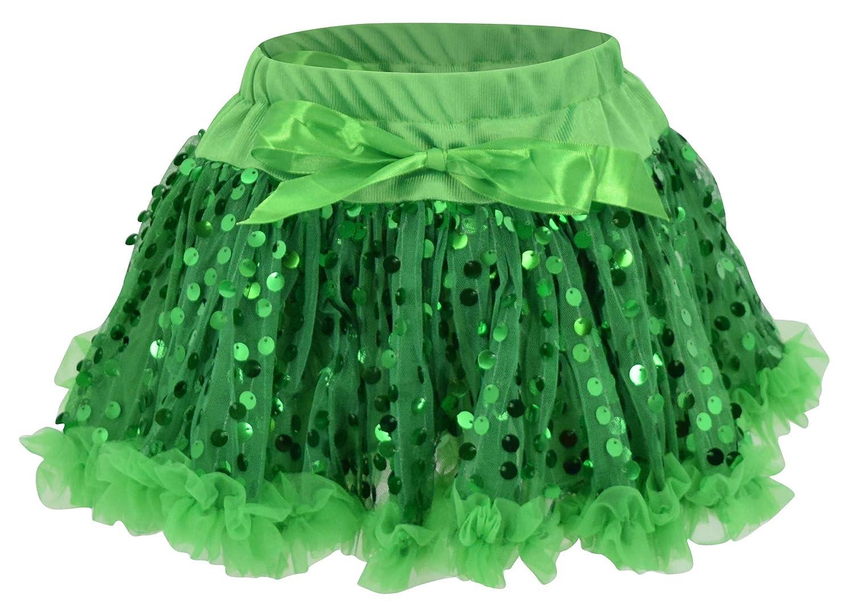 Unique Baby Girls St Patricks Day Lucky Charm Skirt Set