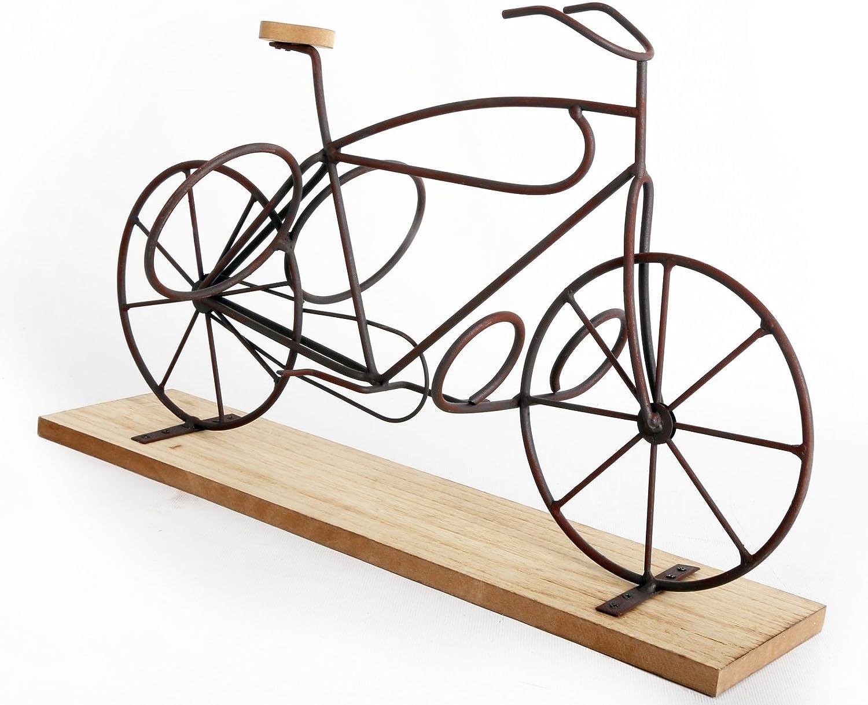 Botellero diseño y original - Bicicleta en soporte de madera ...