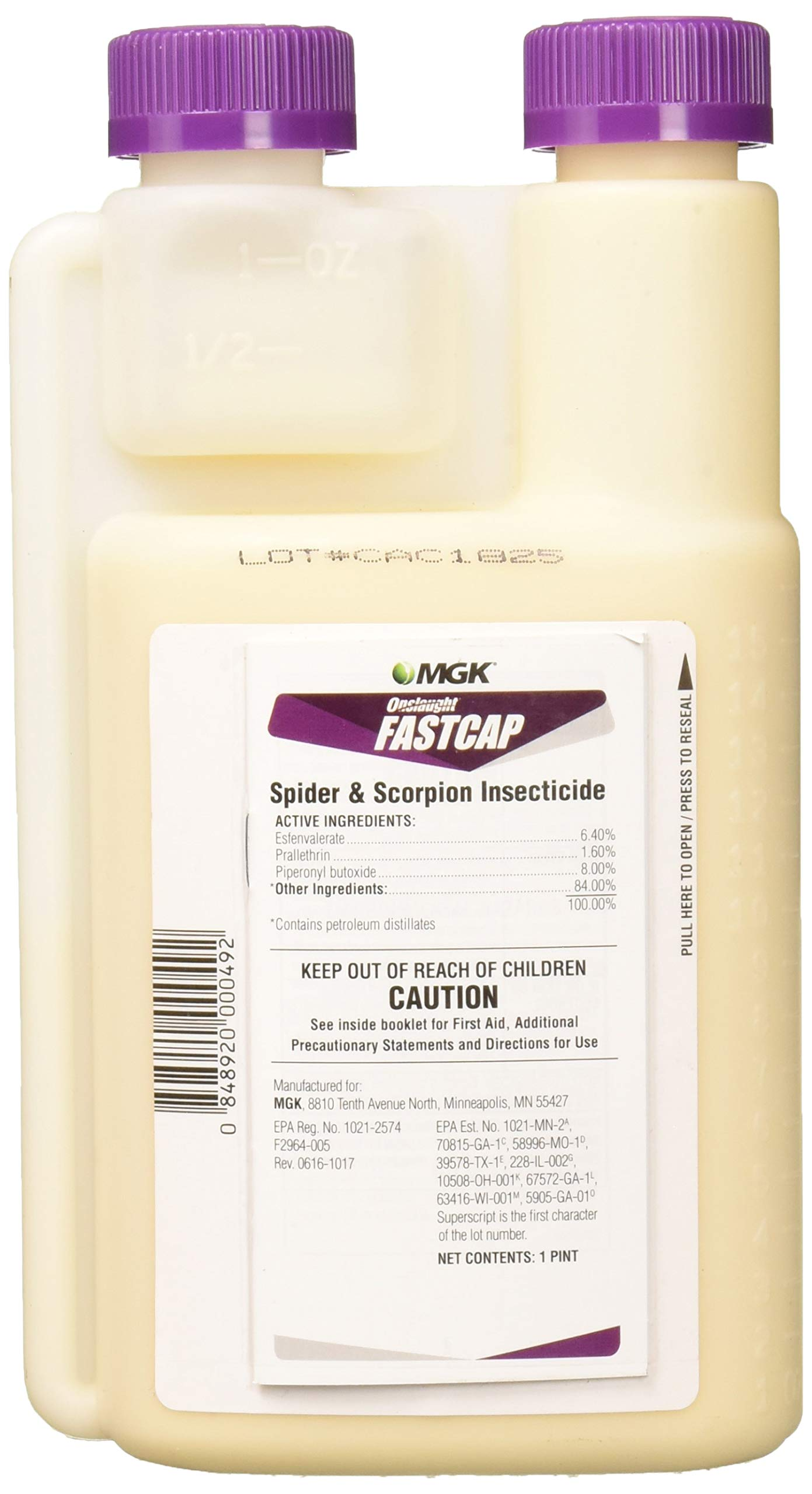 MGK 10085 Onslaught FastCap Spider and Scorpion Insecticide by MGK