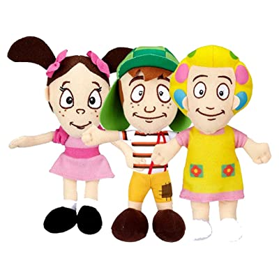 El Chavo Plush Doll Set Dona Florinda La Popis El Chavo: Office Products