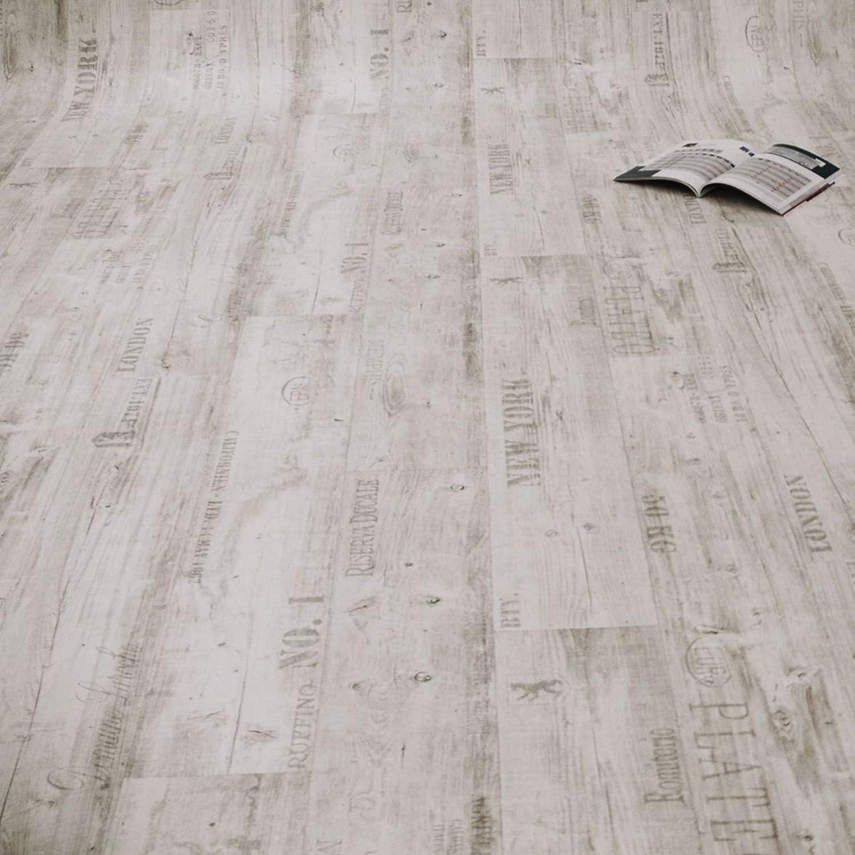 PVC Bodenbelag Rustikal Hell mit Aufdruck Breite: 200 cm x L/änge: 500 cm 11,90 /€ p. m/²