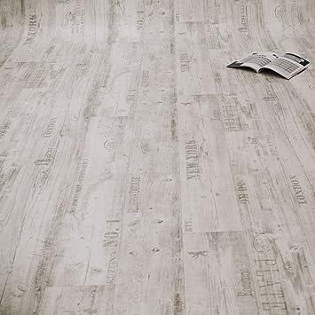 Pvc bodenbelag  PVC Bodenbelag Rustikal Hell mit Aufdruck Breite 4 m 9,95 € p. m² ...