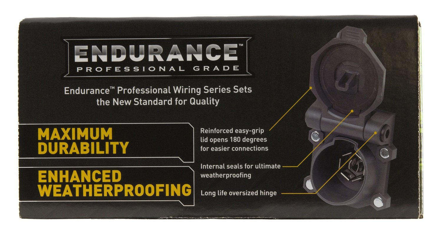 71yqb14nIzL._SL1500_ amazon com hopkins 41157 endurance 5th wheel wiring kit automotive  at reclaimingppi.co