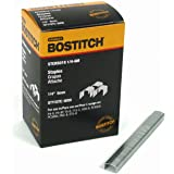 BOSTITCH Crown Staples, Heavy-Duty, 1/4-Inch x 7/16-Inch, 6000-Pack (STCR50191/4-6M)