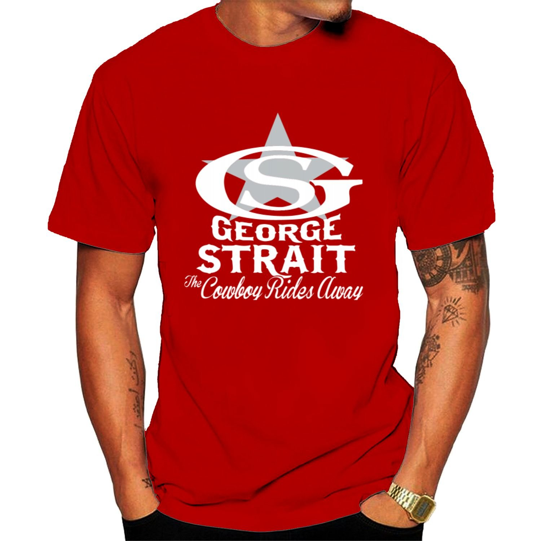 S George Strait Logo Tshirt Black