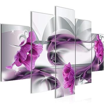 Amazon.de: Bilder Blumen Tulpen Wandbild 150 x 100 cm Vlies ...