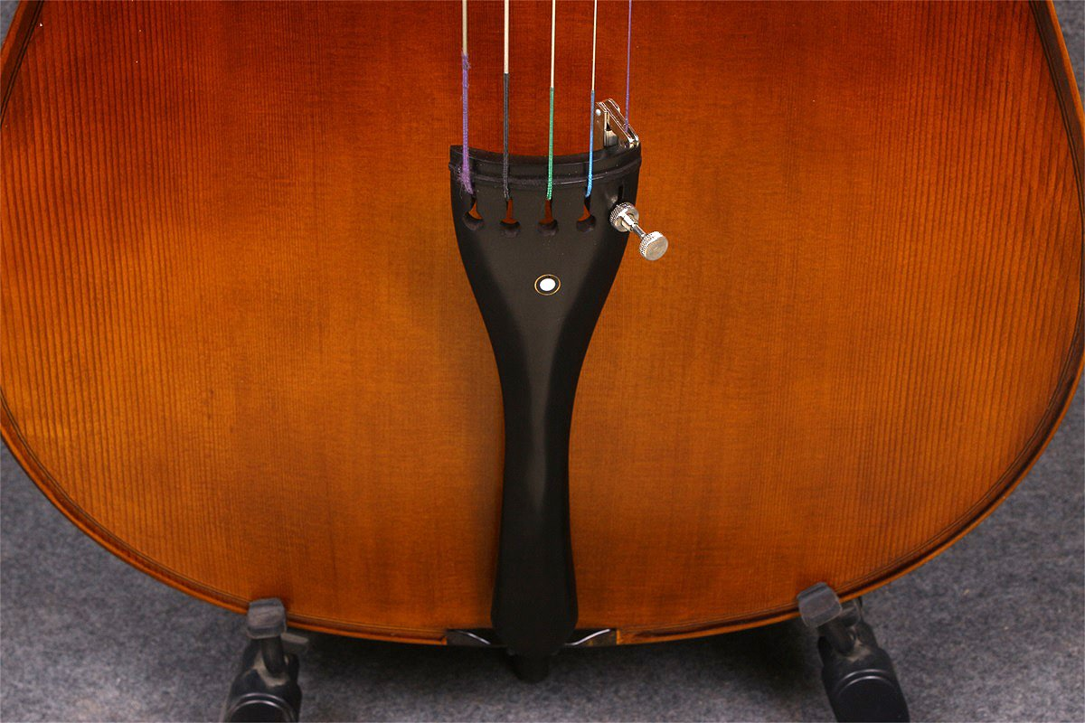 Yinfente 4/4 5 String Cello Acoustic Model Full size Spruce Maple wood Free Cello bow Bag Sweet Sound by yinfente (Image #7)