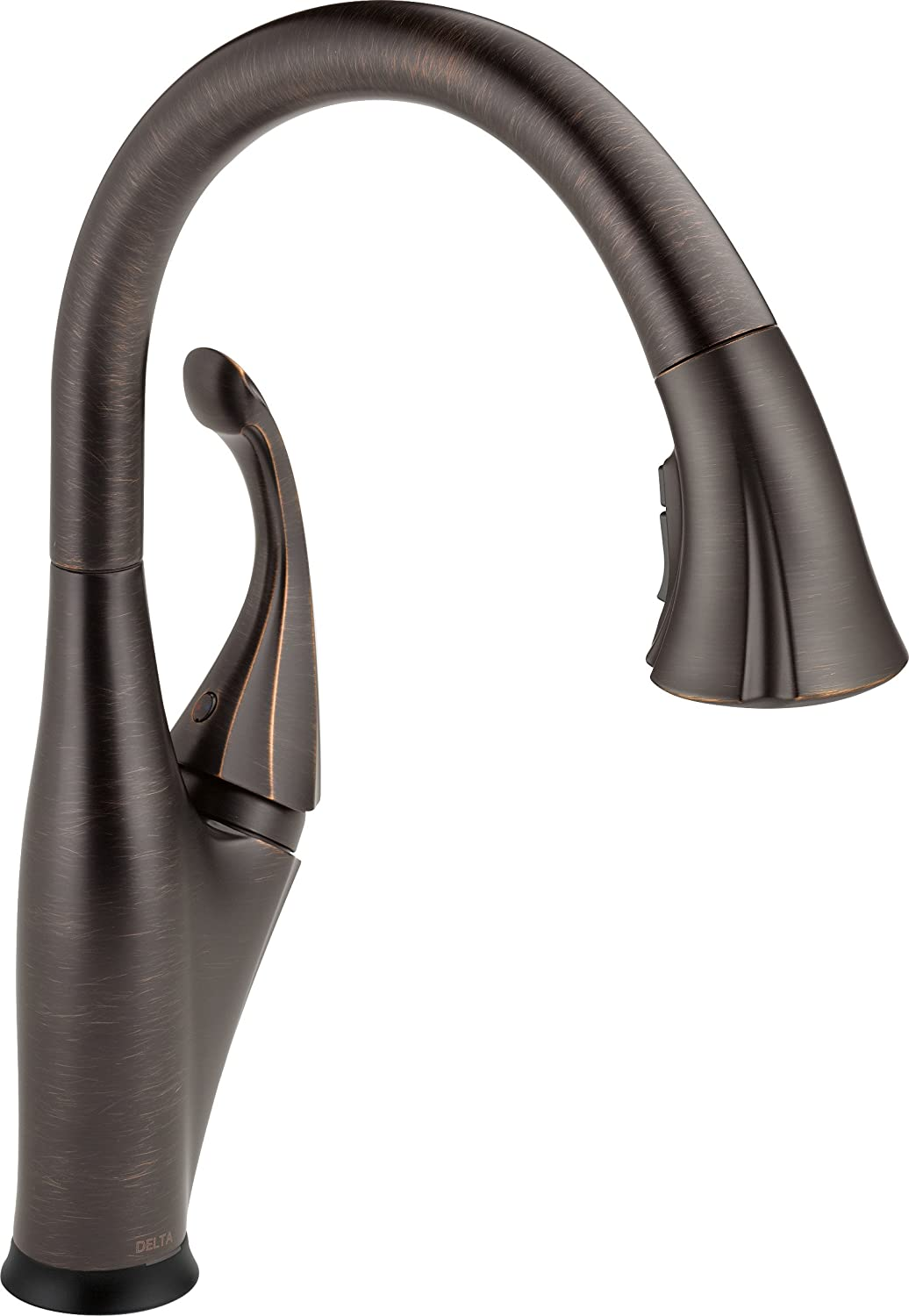 Delta Faucet Addison Single-Handle Touch Kitchen Sink Faucet with Pull Down Sprayer, Touch2O and ShieldSpray Technology, Magnetic Docking Spray Head, Venetian Bronze 9192T-RB-DST