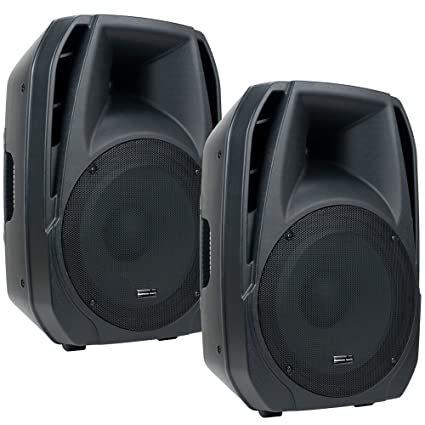 "American Audio ELS15A 15"" Powered PA Speaker Pr"