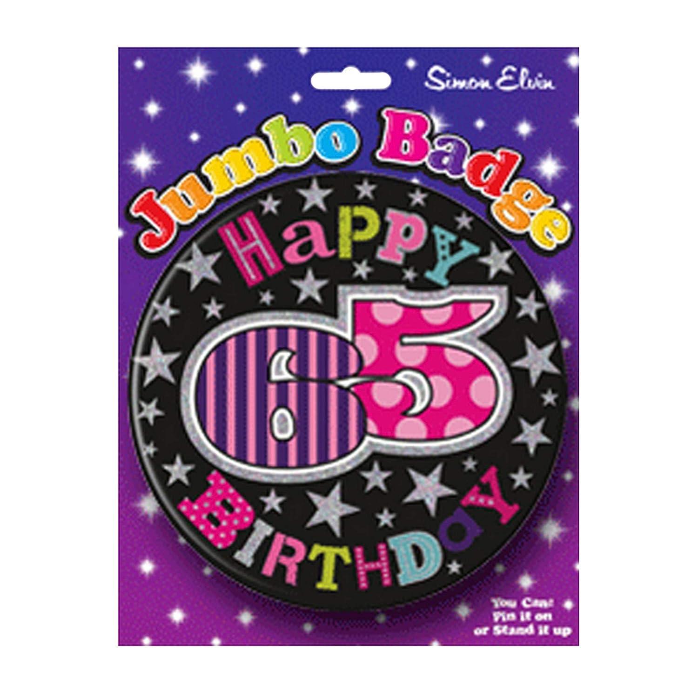 Chapa para celebrar cumpleaños, 15 cm: Amazon.es: Juguetes y ...