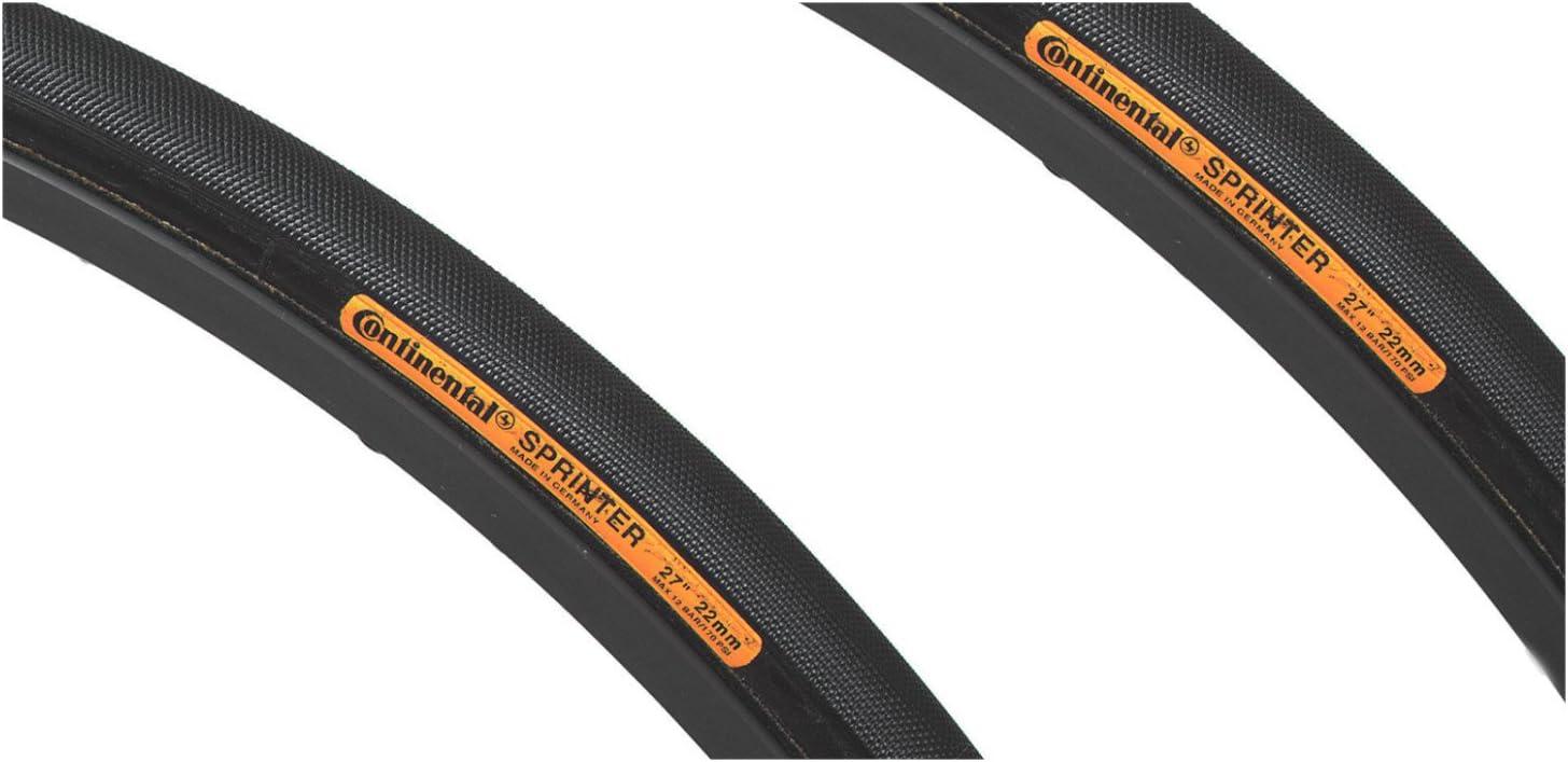 Continental Sprinter tubulaire 700x25//28x25 Pneu Noir Chili