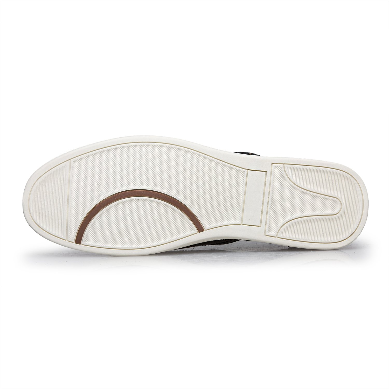 ZRO Men's Wingtip Casual Leather Oxford Sneaker Shoes Wine US 11 by ZRO (Image #5)