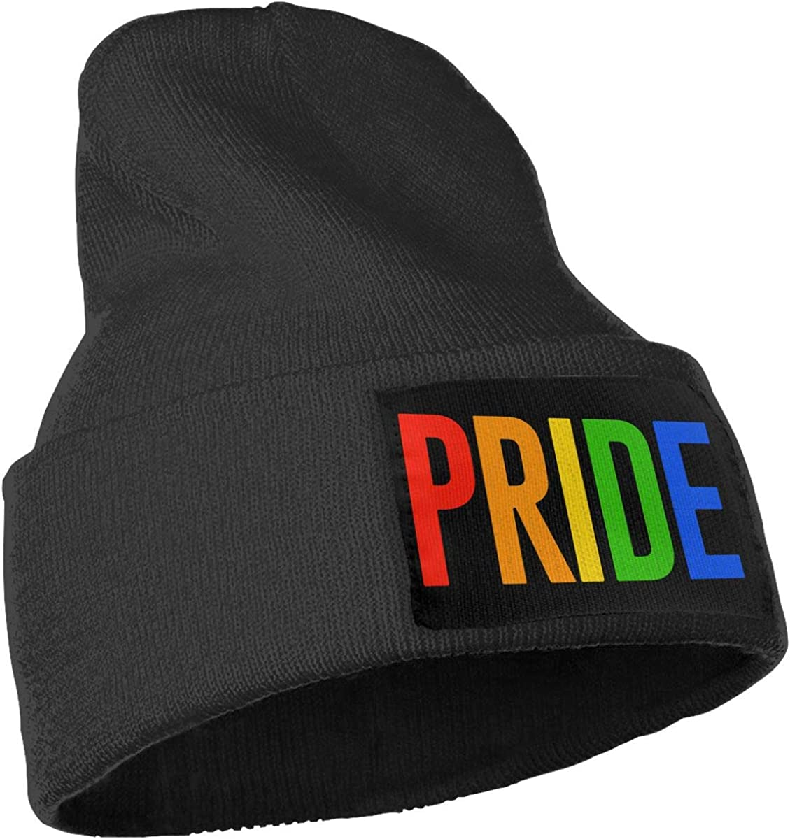 COLLJL-8 Unisex Gay Pride Outdoor Stretch Knit Beanies Hat Soft Winter Knit Caps