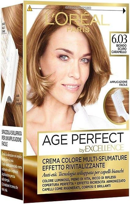 Set 6 EXCELLENCE Age Perfect 6.03 color de oro Rubio Tinte ...