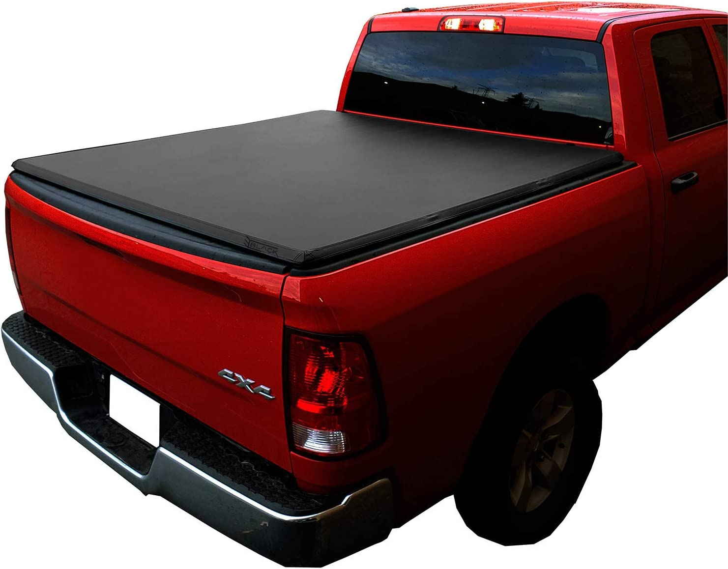 Black Series Auto Soft Tri Fold Tonneau Cover 2014 2020 Tundra 5 5 Feet Bed Truck Bed Toolboxes Amazon Canada