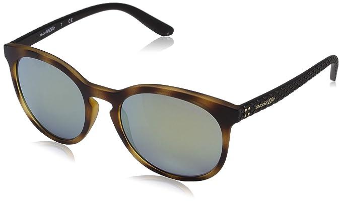 Arnette Chenga R, Gafas de sol para Hombre, Matte Havana, 55 ...