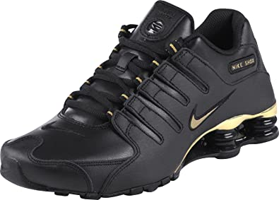 711106ce128b55 Nike Shox NZ Schuhe black-metallic gold - 42