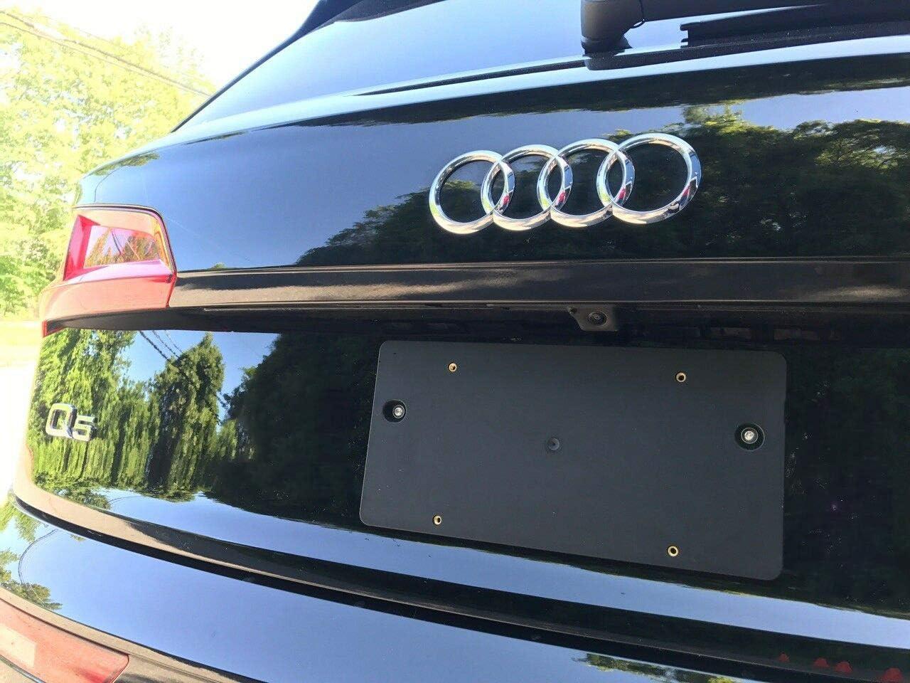Rear License Plate Bracket For Audi Q5 SQ5 2009 10 11 12 13 14 15 16 17 18 2019 8 Unique Screws /& Wrench