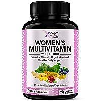 Vegan Women's Daily Multivitamin 50 Plus with Organic WholeFood Based Natural Ingredients...