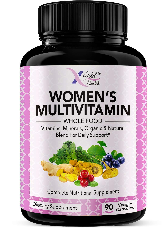 Vegan Women's Daily Multivitamin 50 Plus