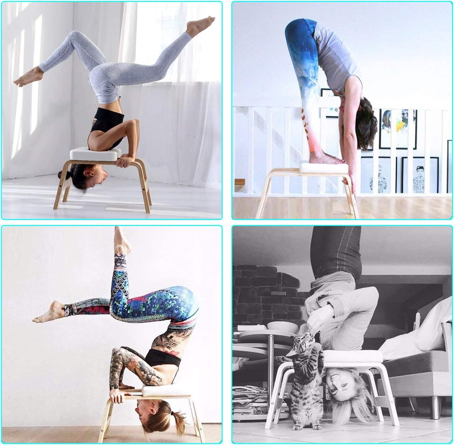 Amazon.com: Desire Life - Banco de yoga con reposacabezas ...