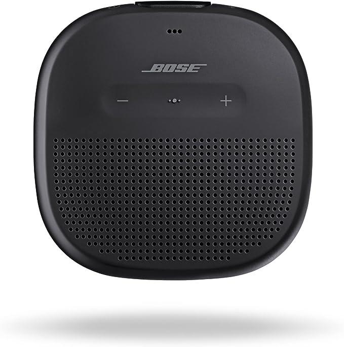 Bose SoundLink Micro - Altavoz Bluetooth Resistente al Agua, Negro (Black): Amazon.com.mx: Electrónicos