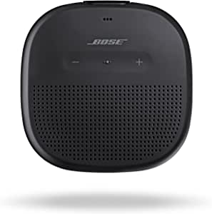 Bose SoundLink Micro, Portable Outdoor Bluetooth Speaker with IPx7 rated waterproof design - Black