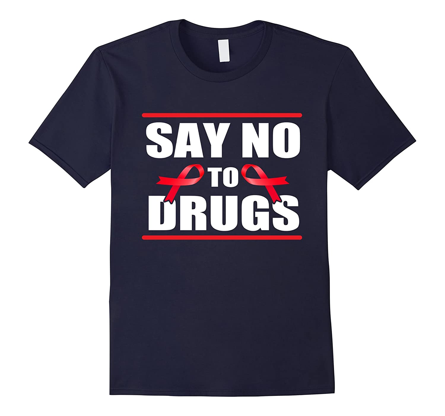 Red Ribbon Week Shirt October, Say No To Drugs Shirt-T-Shirt
