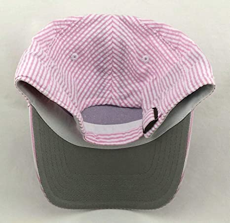 8d4fd161a86 Amazon.com   American Needle New York Yankees New Seersucker Pink White NY  Clean up Dad Era Strapback Hat Cap   Sports   Outdoors