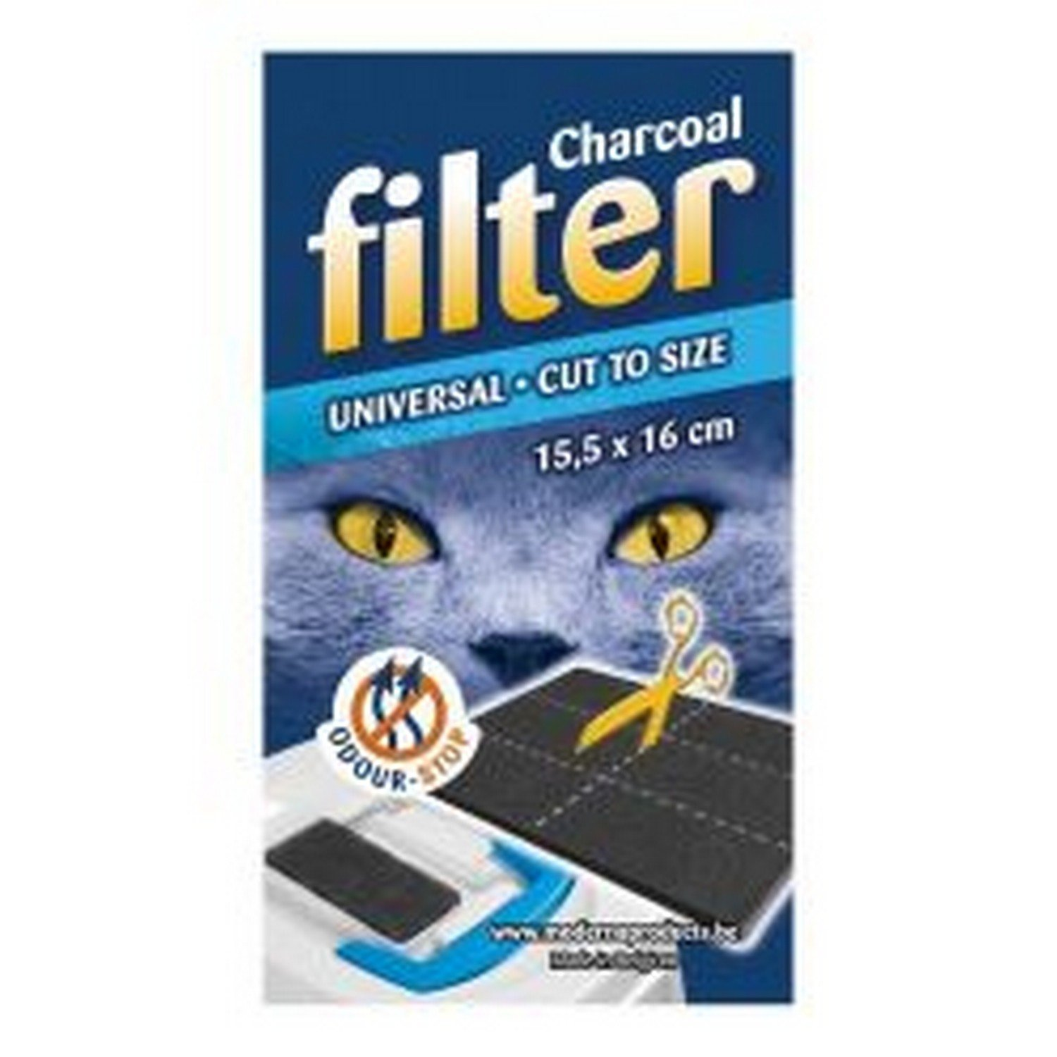 Clean 'N' Tidy Hooded Cat Loo Filter (One Size) (May Vary) SHARPLES UTBT1880_1