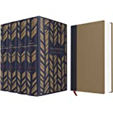 NIV, The Sola Scriptura Bible Project: The Complete Collection, Cloth over Board, Navy/Tan: Rediscover the Holy Art of Reading